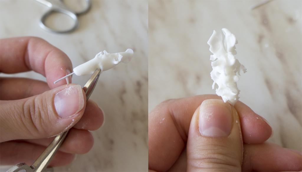 Как сделать кораллы из мастики мастер класс