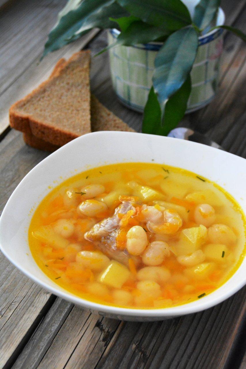 Как приготовить суп фасоль