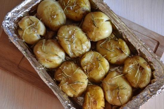 Картофель, запеченный по-португальски.