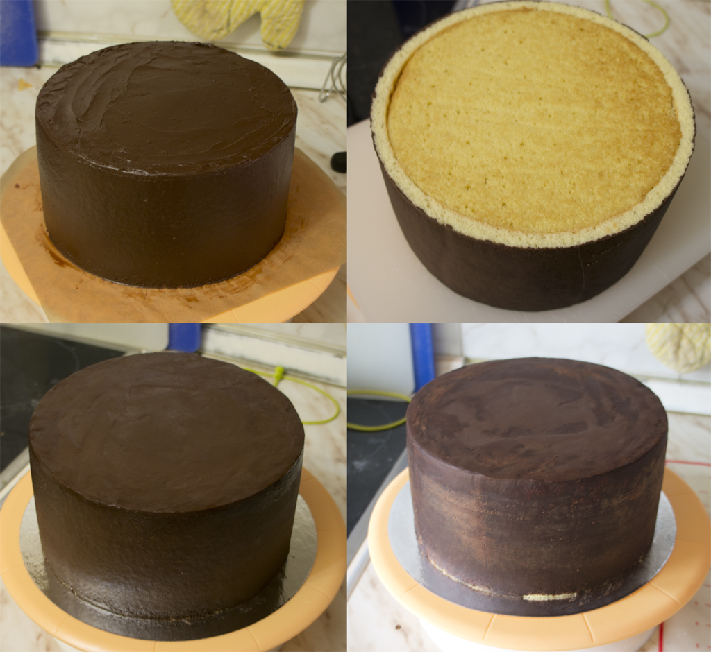 Бисквитный торт под мастику рецепт с фото