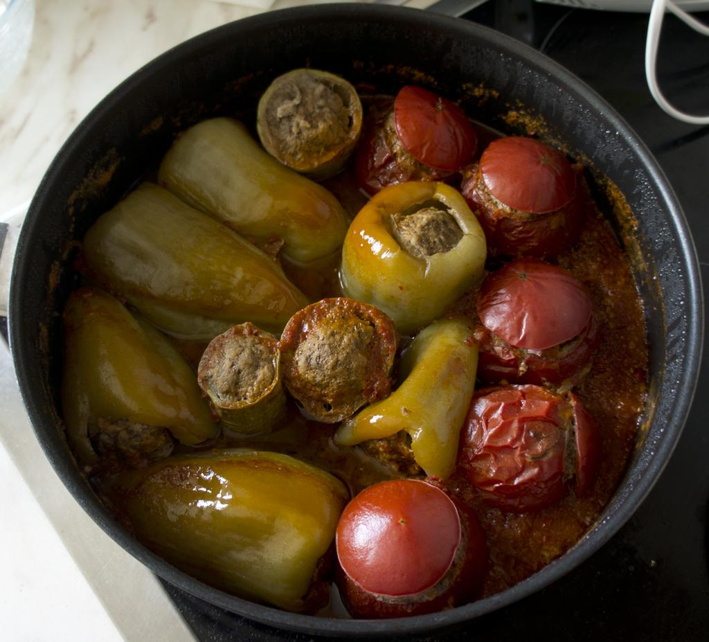 Овощная долма по азербайджански рецепт с фото