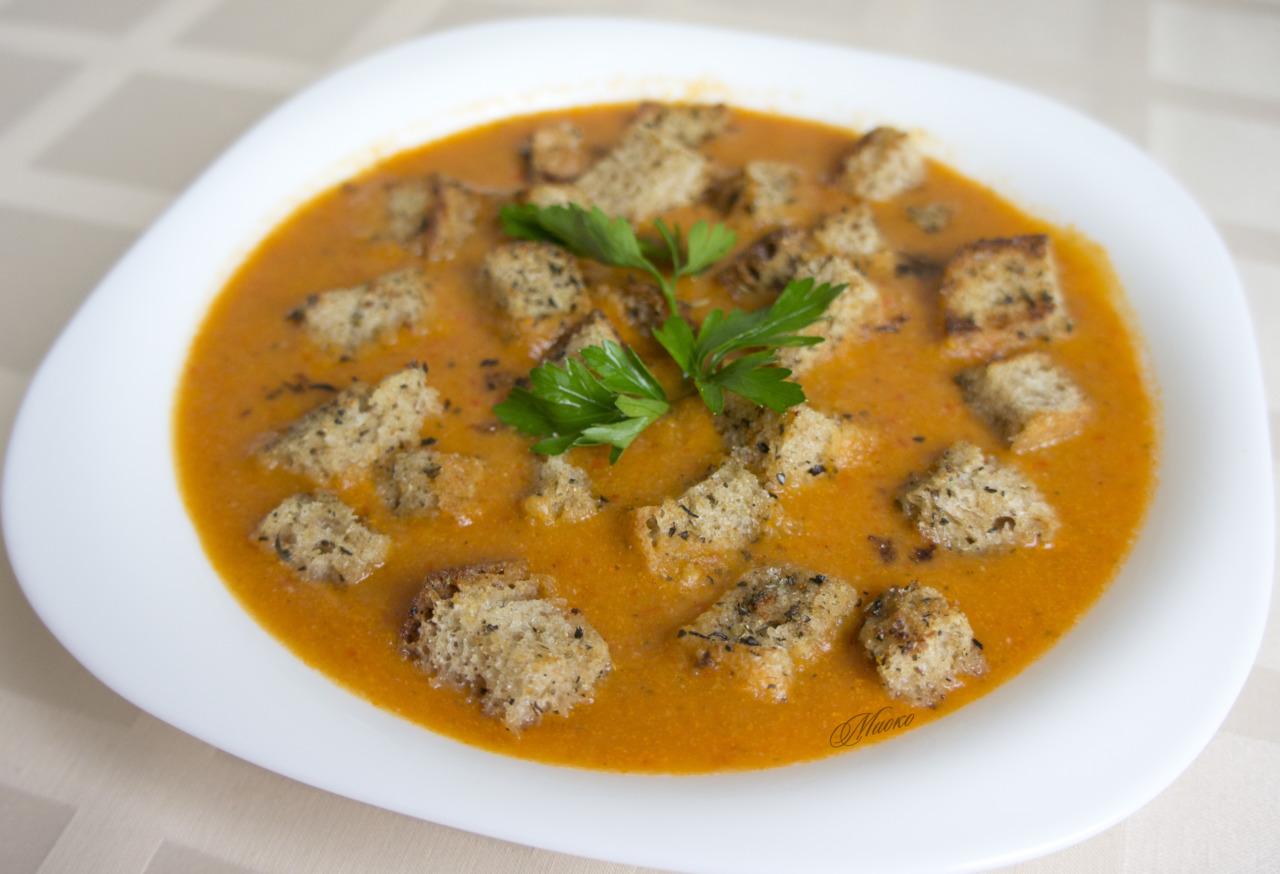 Рецепт вкусного и полезного крем-супа из чечевицы с пошаговым приготовлением.