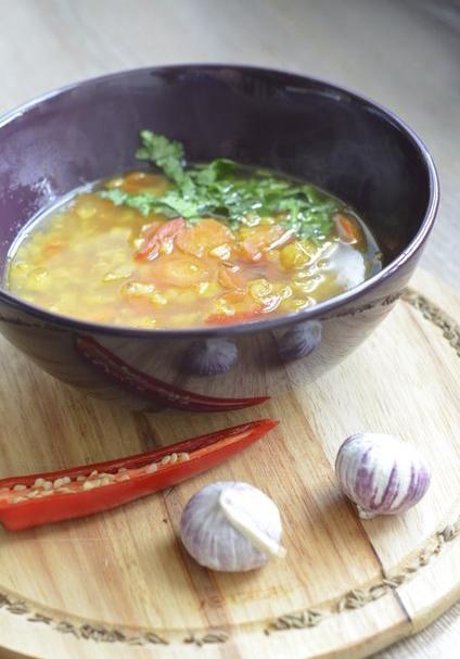 Дал — суп гороховый с морковью и пряностями