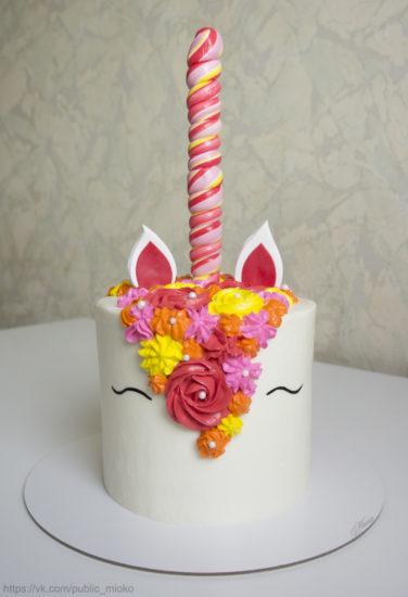 МК торт-единорог
