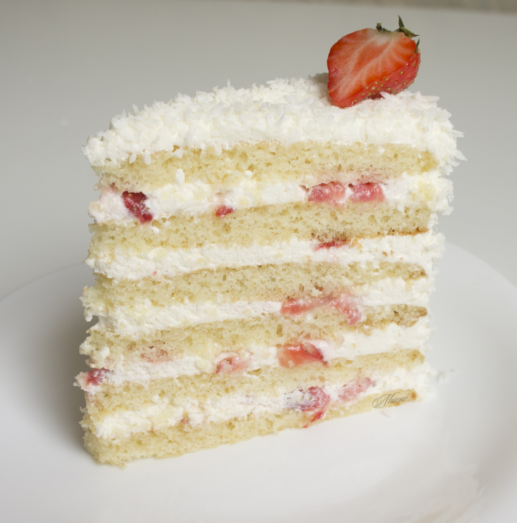Торт «Молочная девочка» от Миоко