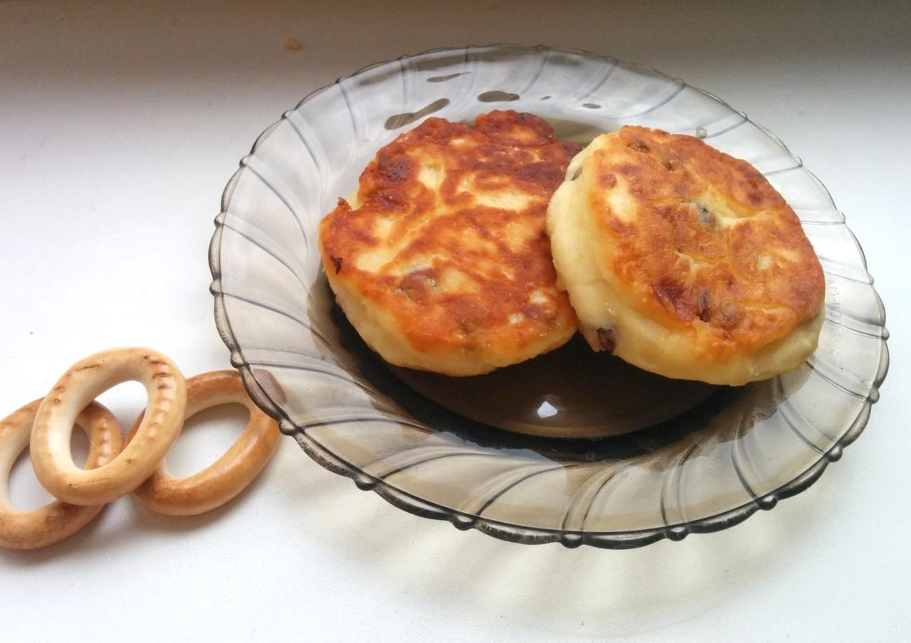 Творожные сырники с манкой на сковороде пошаговый рецепт