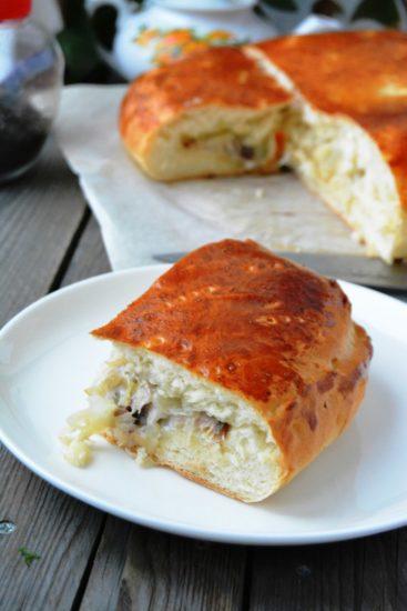 Дрожжевое тесто для пирогов, пирожков и рулетов