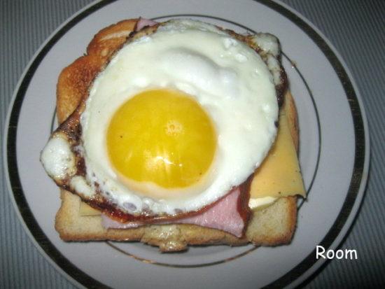 Мега-сытный бутерброд на завтрак