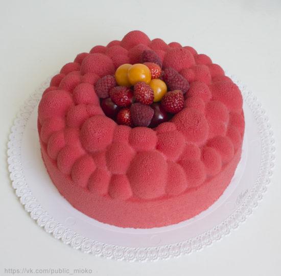 Муссовый торт «Арахисовый взрыв» от Александры Овешковой