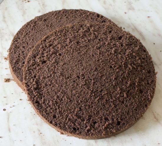 Шоколадный бисквит от Александра Селезнёва