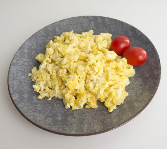 Омлет со сливочным сыром