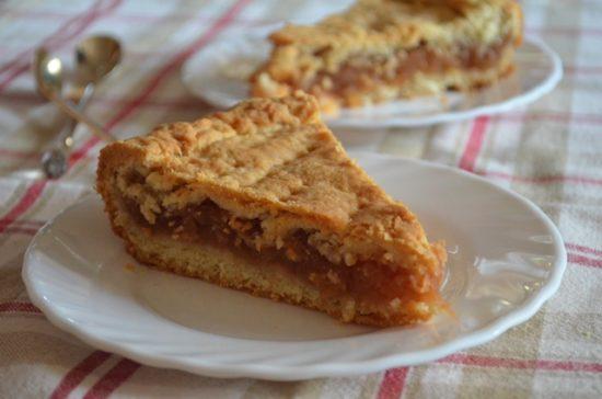 Олмаш — венгерский яблочный пирог