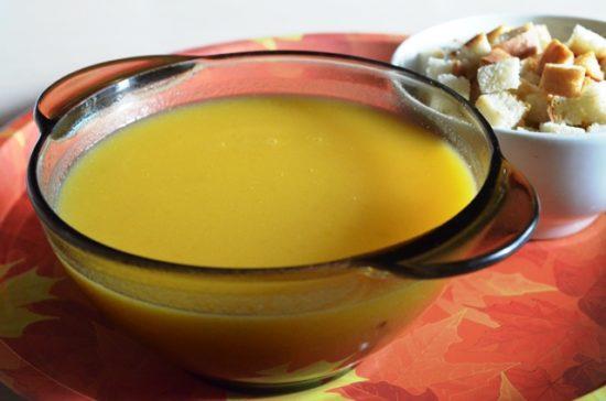 Южно-африканский суп «Пампкинс».