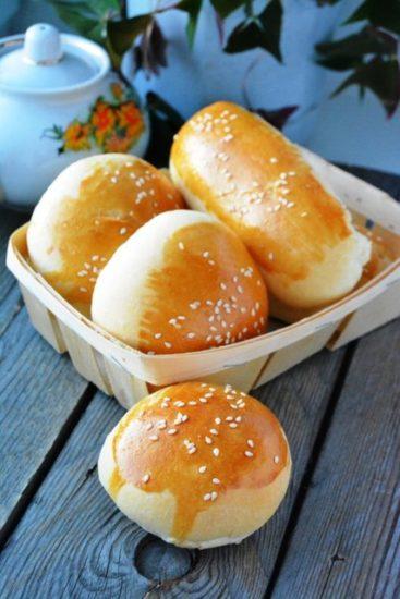 Булочки для гамбургеров (вариант)