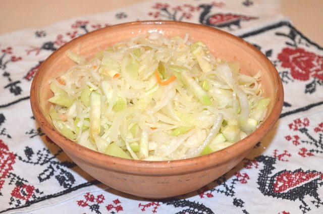 Салат «Зимний витамин»