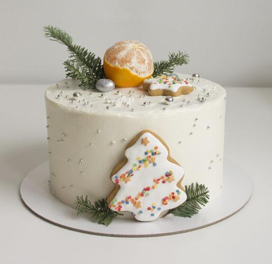 Морковный торт с карамельным кремом