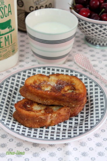 Молочные гренки (Torrijas de leche)