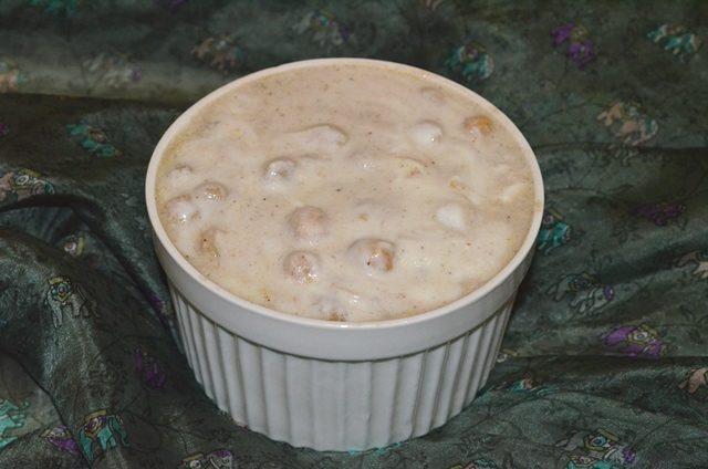 Чана райта — жареный нут в йогурте