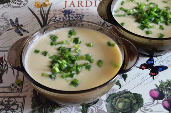 Французский луковый суп «Вишисуаз»