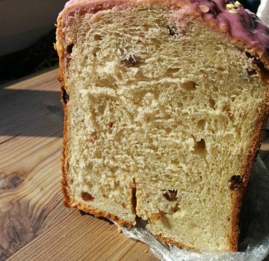 Кулич сдобный старинный в хлебопечке
