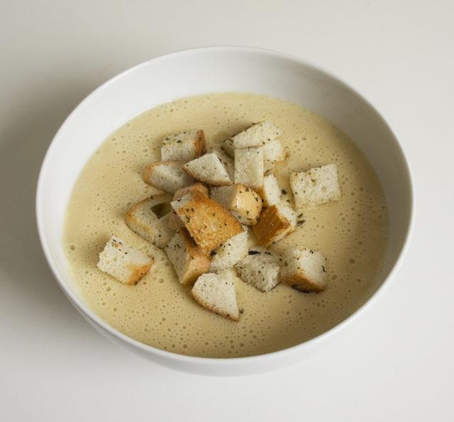 Чечевично-сырный суп