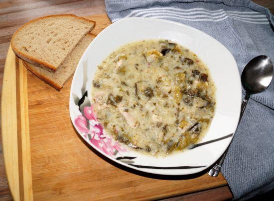 Ма(г)ирица Греческий Пасхальный суп