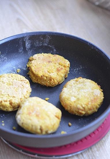 Нутбургеры (постные котлеты из нута)