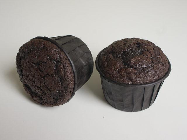 Шоколадные капкейки на кефире
