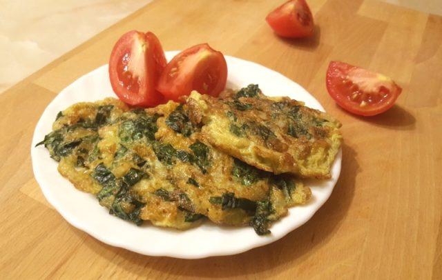 Аджи — сирийская горячая закуска из зелени и яиц