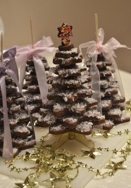Ароматное печенье «Шоколадные звездочки»