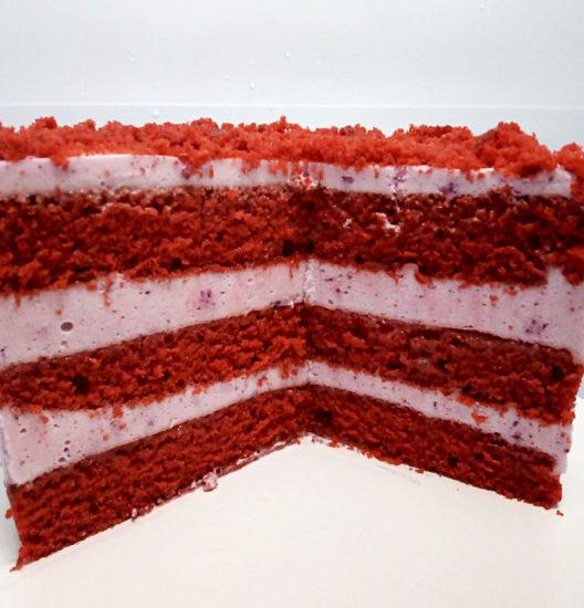 Бисквит «Красный бархат » на ряженке