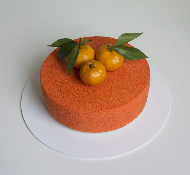 Муссовый торт «Хрустящий мандарин»
