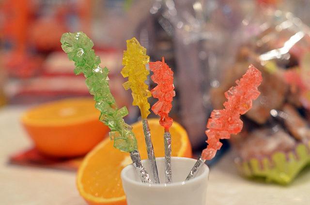 Сахарные кристаллы своими руками