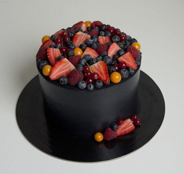 Торт «Шоколад-малина» от Миоко