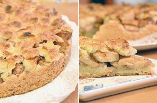 Яблочный пирог Tosca