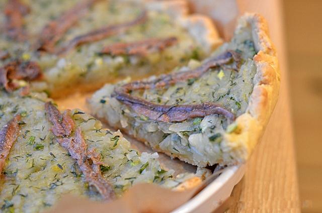 Писсаладьер. Луковый пирог из Прованса