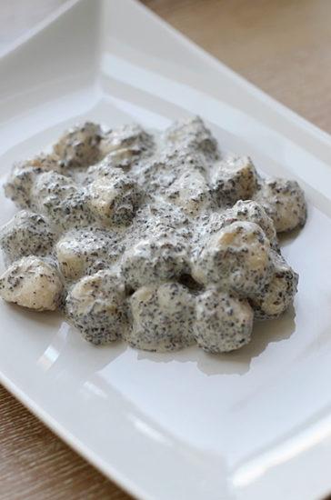 Ньокки в сливочно-грибном соусе с голубым сыром