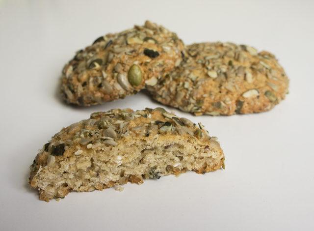 Овсяное печенье с семенами