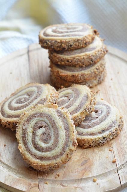 Печенье «Ореховая спираль»
