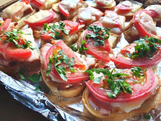Горячие бутерброды «Роттердамские ломтики»
