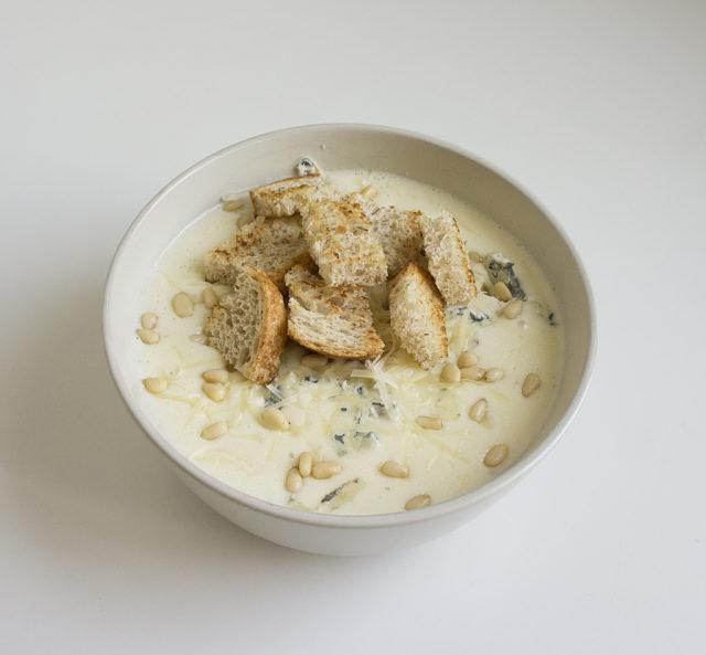 Крем-суп «Четыре сыра»