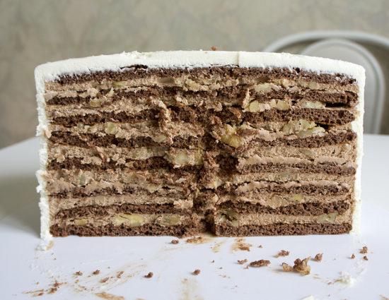 Торт «Белочка»
