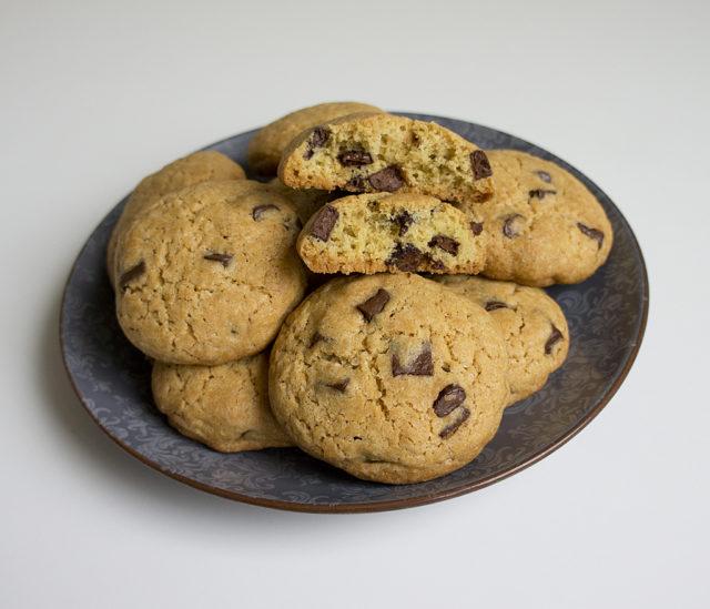 Печенье «Милка» с шоколадными каплями