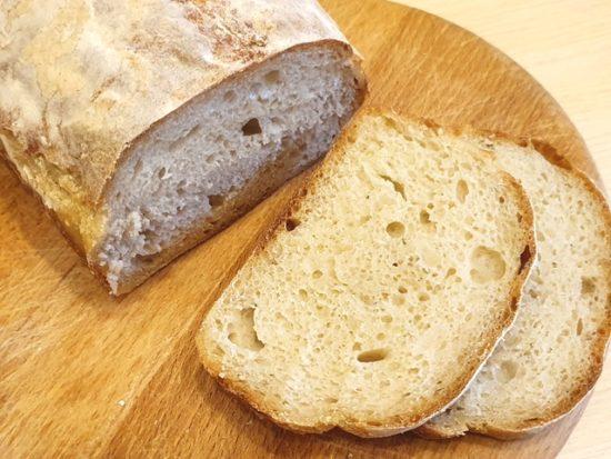 Хлеб без замеса на закваске