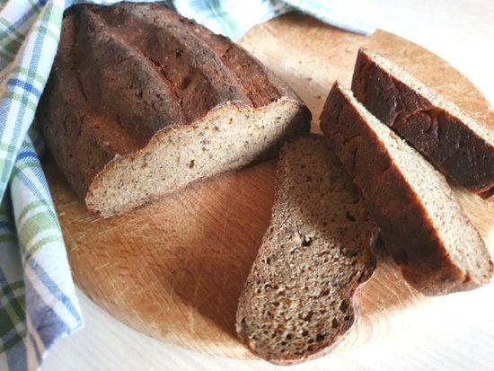 Литовский домашний ржаной хлеб