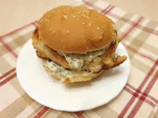 Filet-O-Fish — Филе-о-фиш как в Макдональдсе. Рыбные бургеры.